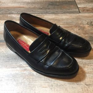 Cole Haan - Men's Black Leather Loafers (8.5D)